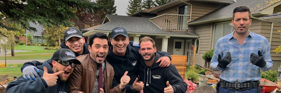 Watch us on HGTV's hit TV series Property Brothers.  Coming Soon!...